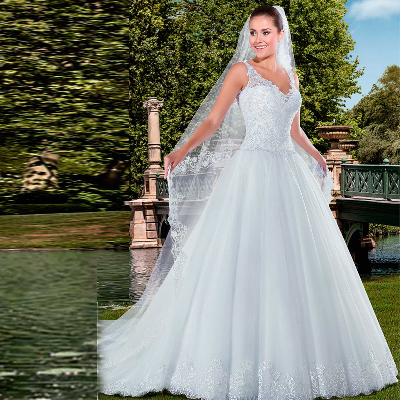 Aliexpress.com : Buy Newest White Lace Bridal Gowns
