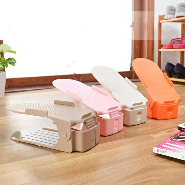 Pink Fairy Wishes Bench Seat With Storage Toy Box Seating: Shoe Storage Creative Double Integral Shoe Simple Plastic