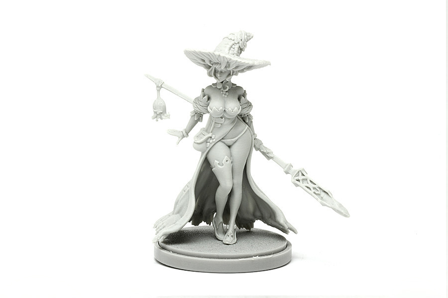 Disciple of the Witch One Resin Model Kit Free Shipping
