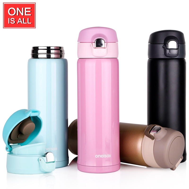 buy thermos cup stainless steel thermos mug drinkware lady 39 s travel thermo. Black Bedroom Furniture Sets. Home Design Ideas