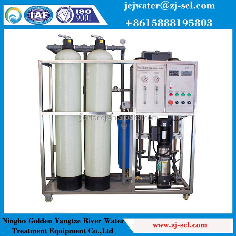 0 5t Industrial Ro Purification System Salt Water