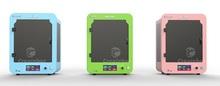 Double nozzle 3d printer resin createbot brand multi color mini printer 3d printing speed 80-150mm/s impressora 3d