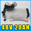 electric bike 48v 20ah lithium battery Pack ebike electric scooter rear rack Aluminum alloy