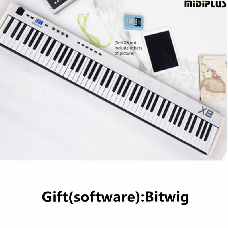buy gift bitwig software midiplus x8 88key usb midi keyboard controller with. Black Bedroom Furniture Sets. Home Design Ideas