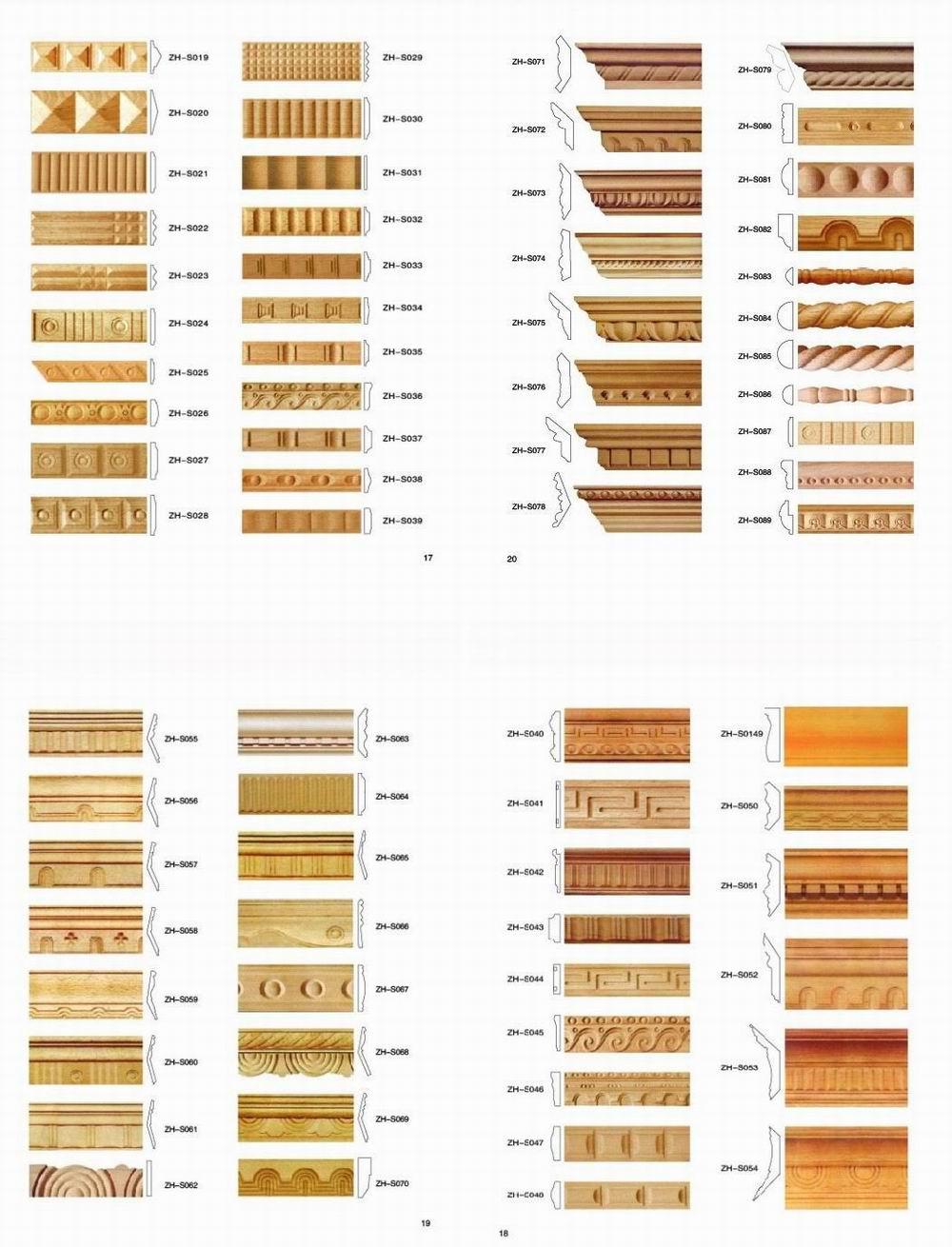 Unfinished Decorative Wood Molding And Trim Buy Wood