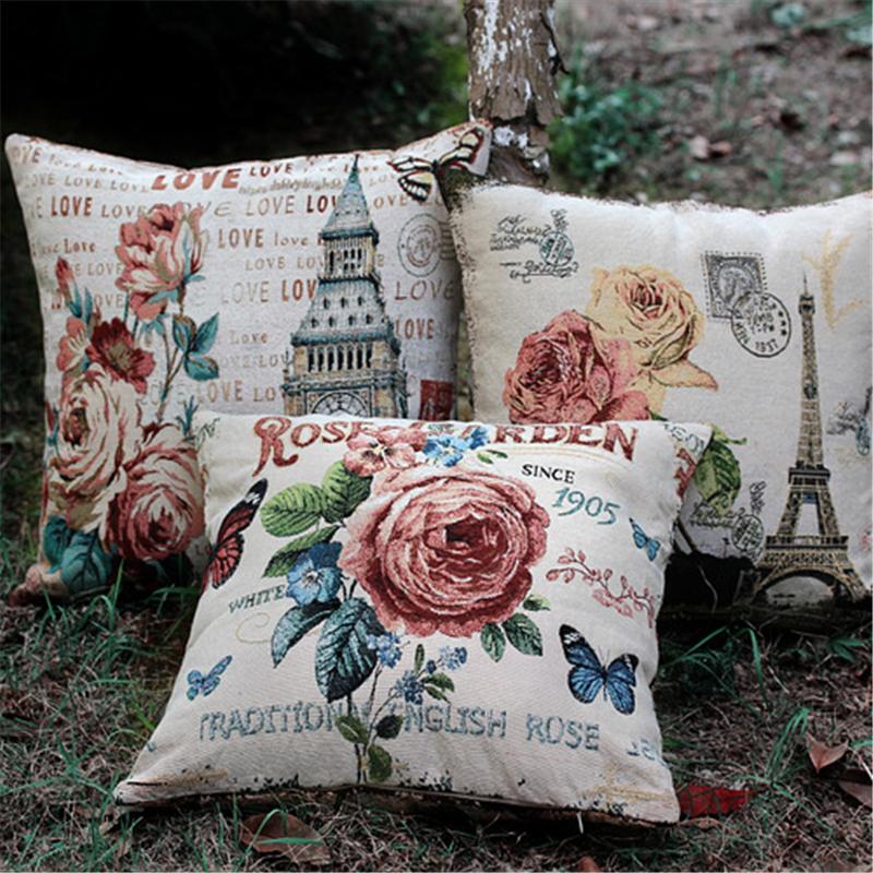 Vintage Wholesale Home Decor: 3pcs/lot Flower Eiffel Tower Paris American Vintage Style