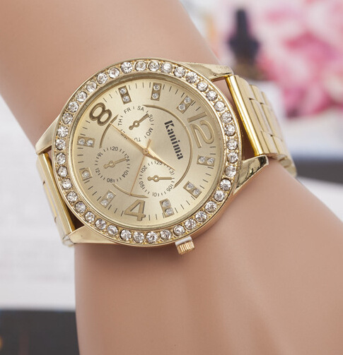 Aliexpress.com : Buy Ladies Fashion Rose Gold Silver Watch