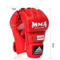 Sandbag Training Boxing Gloves Men Taekwondo Protector PU Muay Thai Sanda Kungfu Wushu Women Men Fighting