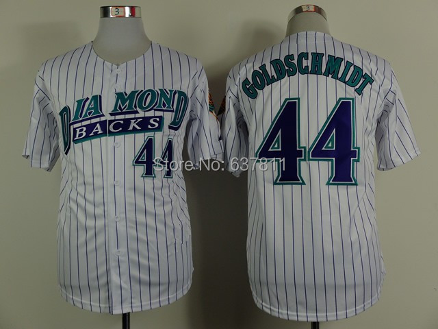 f95f961b ... 2015 los dbacks arizona diamondbacks 51 randy johnson baseball jersey  44 paul goldschmidt .
