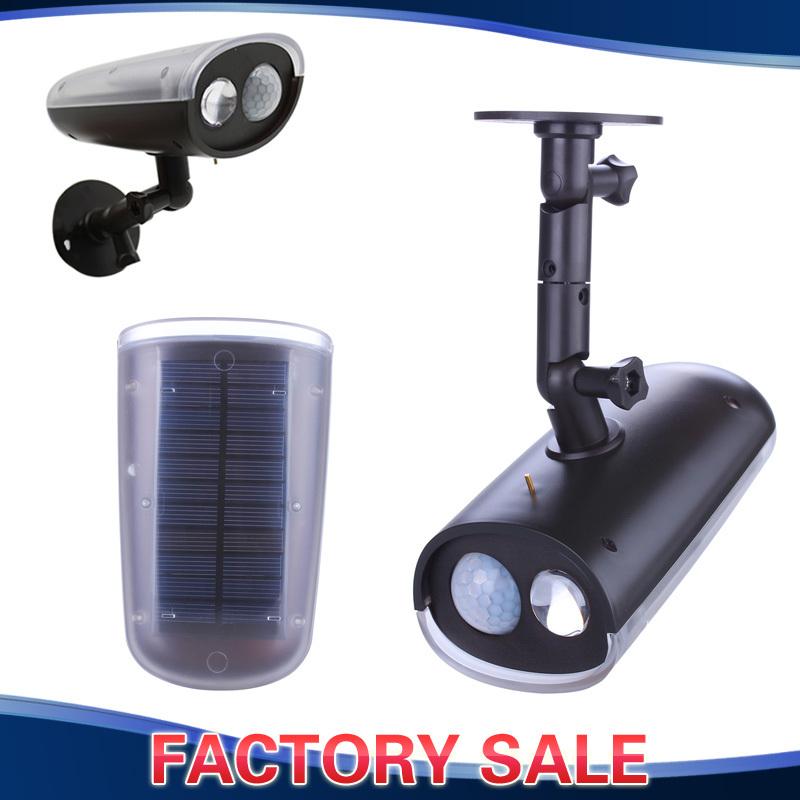Light Sensor Garage Lights: Felxible-Solar-Lamp-Spotlight-Motion-Activated-LED-Sensor