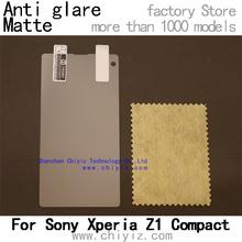 1 x Matte Anti-glare Anti glare Screen Protector Film Guard Cover For Sony Xperia Z1 Compact D5503 Z1 mini M51w