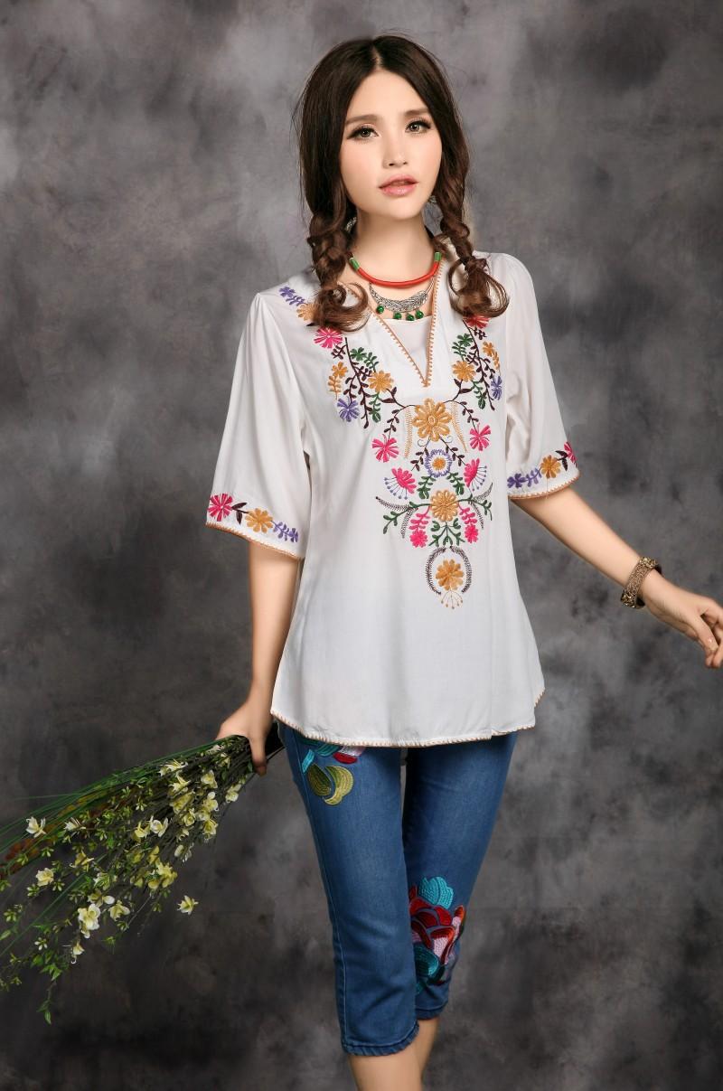 7c1f8211b vestidos y blusas mexicanos