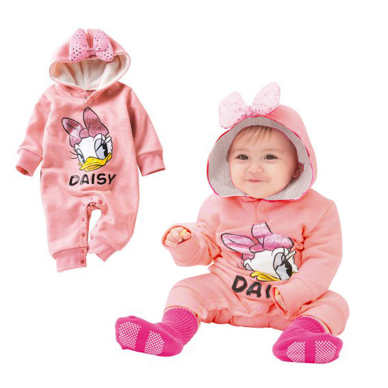 baby girls clothing winter infant romper jumpsuit sets bowknot cartoon design newborn baby. Black Bedroom Furniture Sets. Home Design Ideas