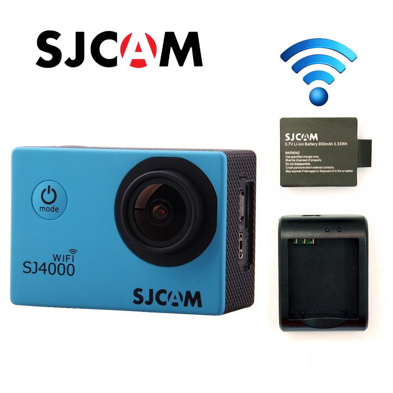 Free Shipping!Original SJ4000 WiFi SJCAM Sport Action GoPro Style Cam+Extra