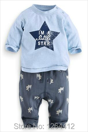 Baby blue clothing store