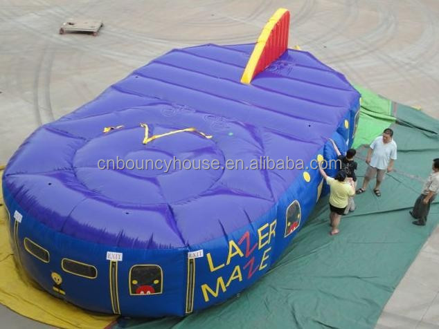 2015 Commercial Outdoor Inflatable Laser Maze Inflatable