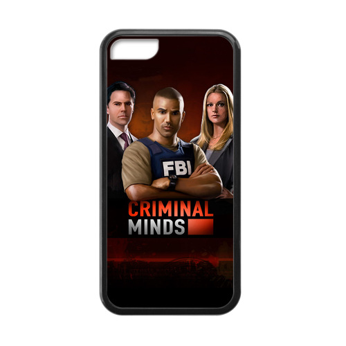 Rugged Phone Cases Criminal Minds BAU Case for iPhone 5c