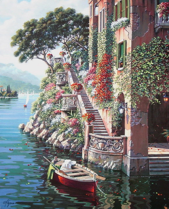 Home Decoration Oil Painting Art Print
