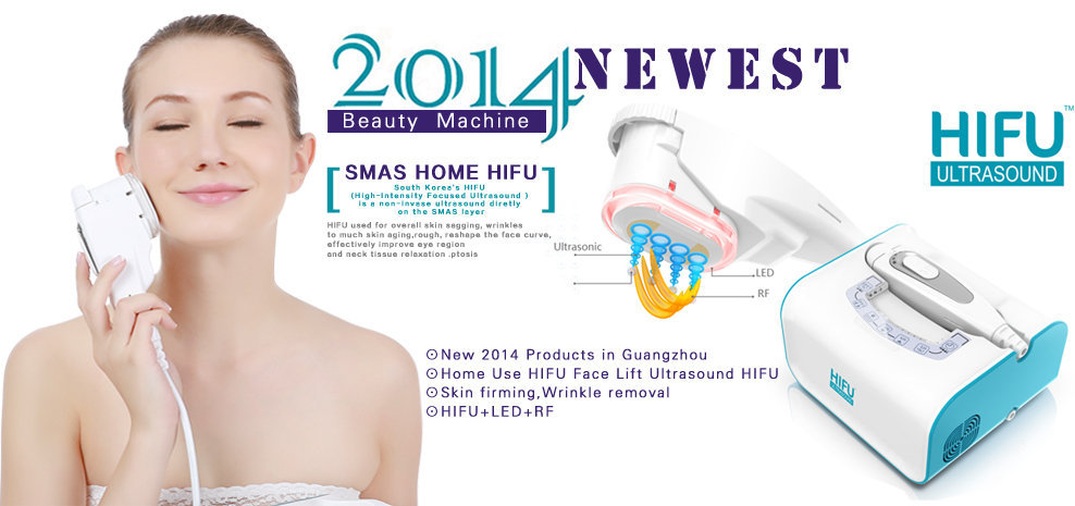 Mini Home Use Face Lifting Hifu Ultrasound Machine Hifu