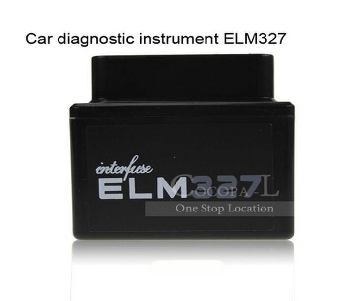 Obd2 / OBD II диагностический сканер OBDII черный и белый мини-elm327 интерфейс Bluetooth 30 шт./лот