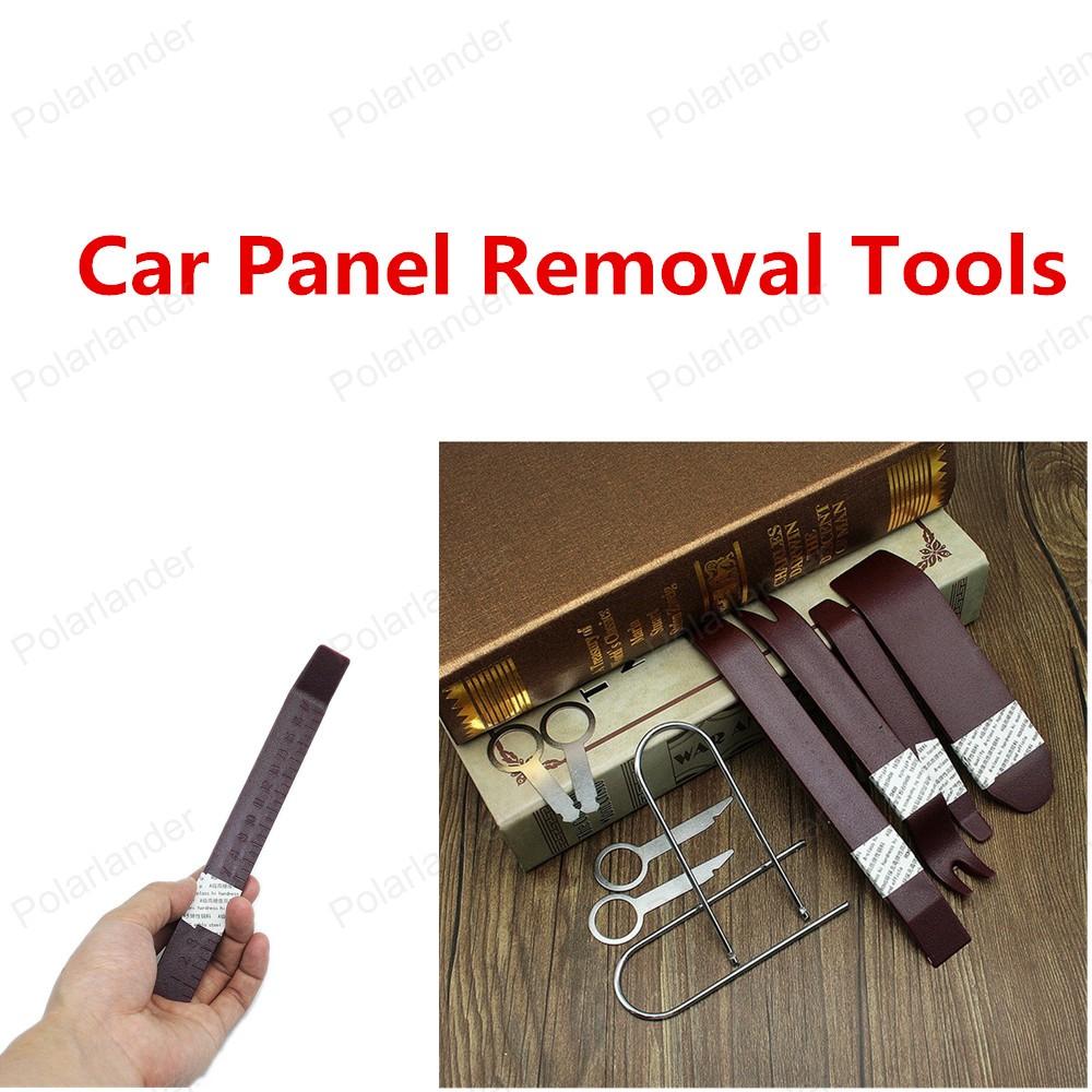 Лучшие продажи бесплатная доставка комплект инструментов автомобилей панель удаления инструмента-автомобилей ремонт комплект инструментов 10 шт./компл. высокое качество