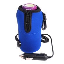 Portable DC 12V in Car Baby Bottle Heater Portable Food Milk Travel Cup Warmer Heater