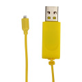 Yellow Charge Wire For Airplane Spare Parts USB RC Helicopter Charger Cable For Syma S107 Accessories