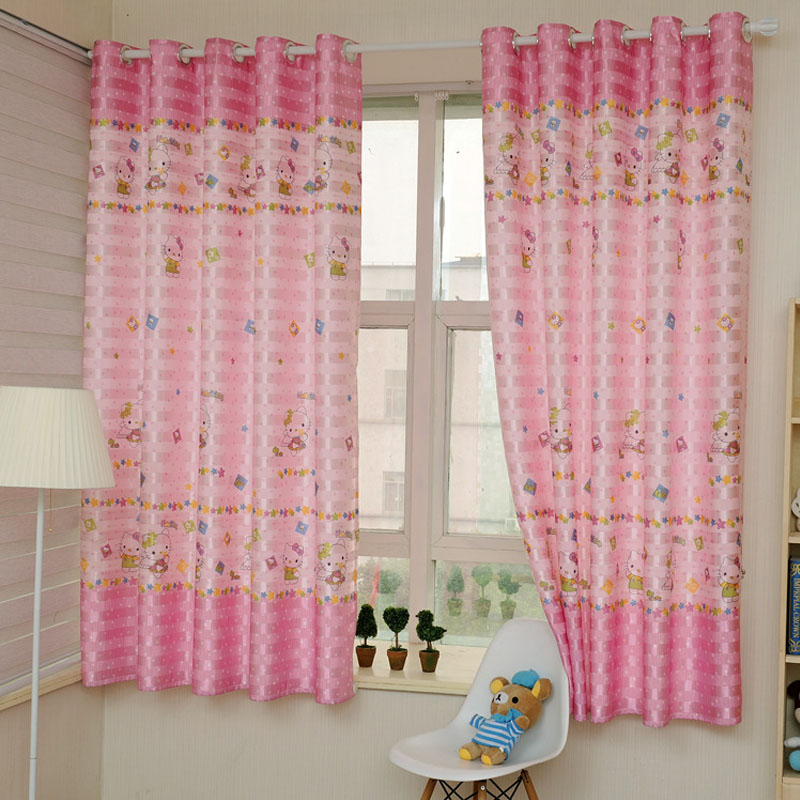 2016 children curtains for bedroom 2m cute blackout - Childrens bedroom blackout curtains ...