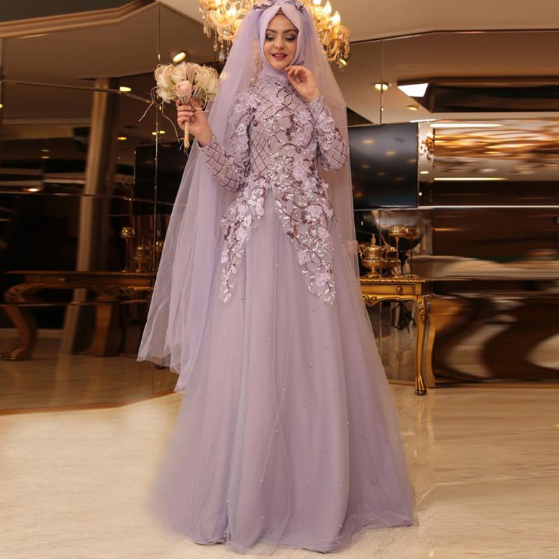 Online Kaufen Großhandel hijab abendkleider aus China ...
