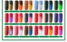 Free Shipping Soak Off Temperature Color Changing UV Nail Gel Polish Total 60 Colors Chameleon Gel