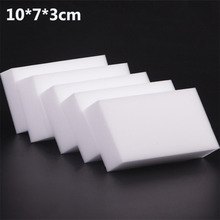 10x7x3cm 50 pcs/lot high quality Magic Sponge Eraser Melamine Cleaner for Kitchen Office Bathroom Cleaning