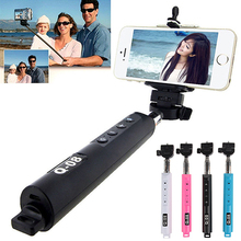 New Arrival Bluetooth Extendable Handheld Selfie Stick Monopod With Zoom for Samsung iPhone 6TY