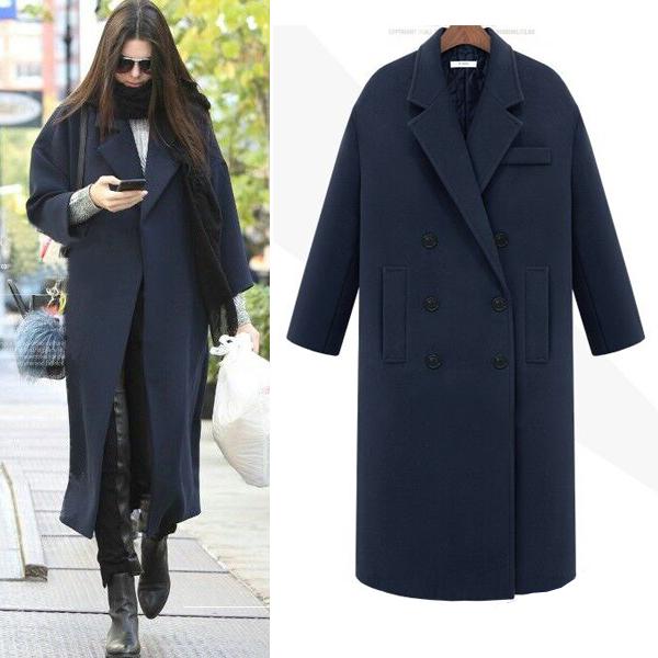 Oversized Wool Coat Womens Coat Nj