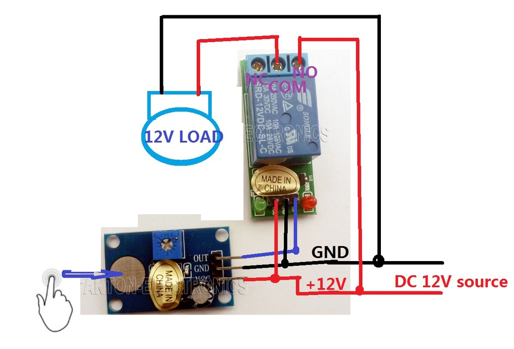 Adjustable Switch Manufacturers Mail: Aliexpress.com : Buy DC 12V Trigger Touch Sensor Key