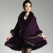 2015 font b Winter b font Elegant Faux Fur Coat Women New Fashion Cashmere Imitation Rabbit