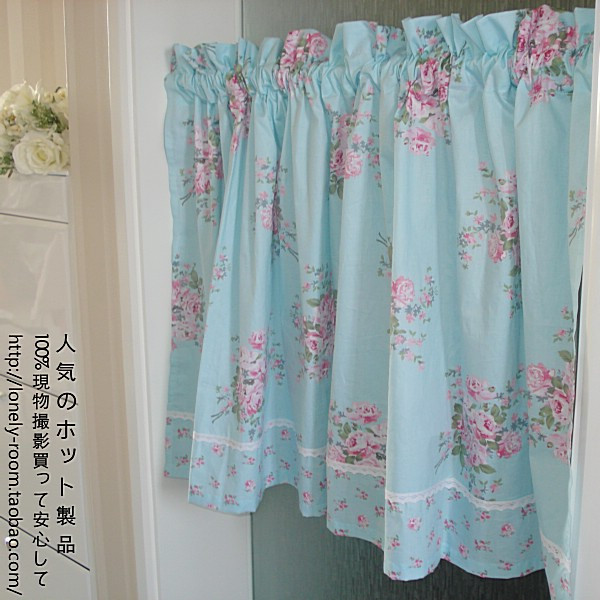 Kitchen Curtain Fabric: Free Shipping Cotton Fabric Country Fresh Rustic Kitchen