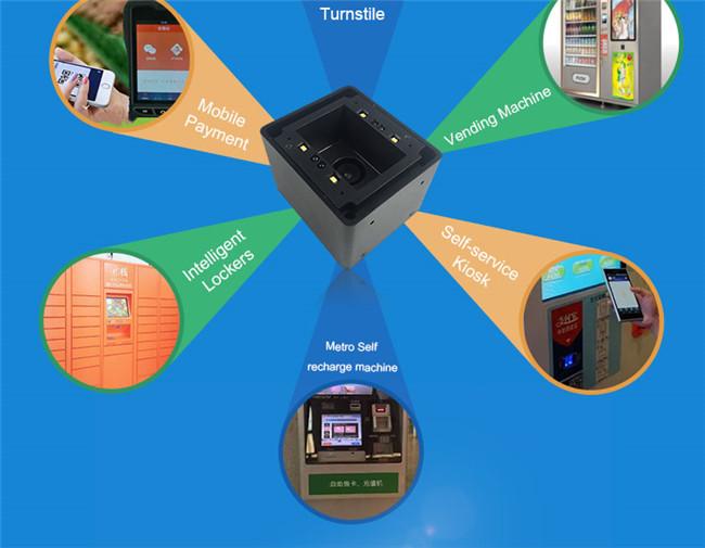 Wholesale LV4500I RS232 2D Phone Barcode Scanner Pdf417 Qr Barcode Reader  Kiosk For Vending Machine, Kiosk Best Printer Scanner Best Scanner From