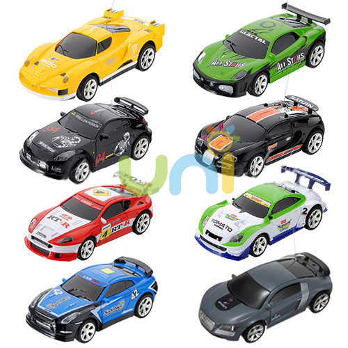 wholesale 8pcs lot 1 58 mini coke can rc radio remote control micro racing car hobby vehicle rc. Black Bedroom Furniture Sets. Home Design Ideas