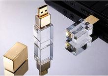 Free shipping discount sale 4gb 8gb 16gb mini usb 2.0 gadget pendriv crystal usb flash bellek
