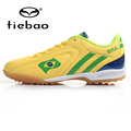 TIEBAO Outdoor Soccer Shoes Men TFTurf Sole Football Boots National Flag Athletic Training Shoes Soccer Cleats