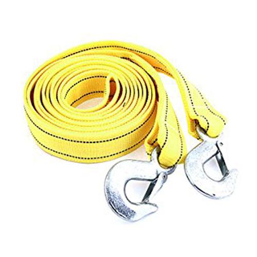 Fs Hot 4 м 5 тонн желтый нейлон пружиной автоэвакуация аварийной буксировки ремень