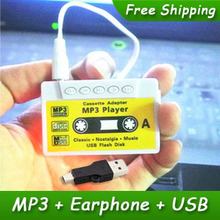 5pcs/lot New Style High Quality Mini Tape Shaped Card Reader MP3 Music Player Gift MP3 Players With Earphone&Mini USB