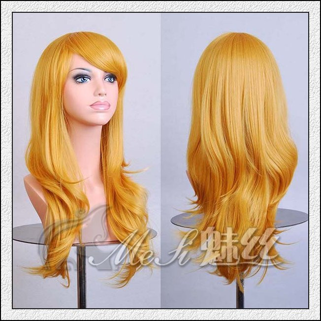 28 Quot Long Length Curly Anime Cosplay Wigs Different