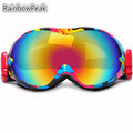 Double Skiing Eyewear ski goggles mountaineering anti fog outdoor climbing Windproof Snowboarding anti snow blind glasses