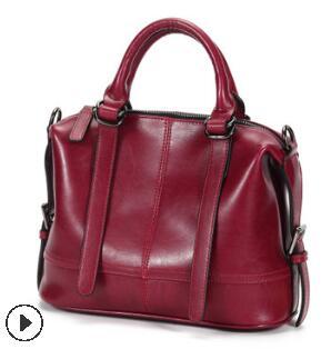 Брендовая классическая женская сумка из натуральной кожи, модная женская сумка через плечо из натуральной воловьей кожи, женские сумки, нов...(Китай)