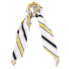 Модные аксессуары для волос длинный шарф ленты резинки для женщин галстук-бабочка эластичный конский хвост держатель девушки резинки для в...(Китай)