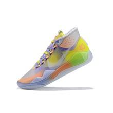 Мужские баскетбольные кроссовки Nike Kevin Durant 12, оригинальные амортизирующие уличные кроссовки желтого, красного, синего, черного цветов, евро...()
