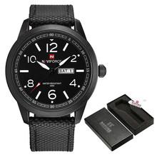 NAVIFORCE спортивные мужские часы, армейские военные мужские наручные часы с отображением недели, модные повседневные мужские часы для кемпинг...(China)