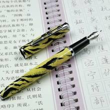 2020 модель Новый стиль Роскошные Jinhao 996 Леопардовый перьевая ручка 0,5 мм чернильная ручка Nib финансовых канцелярские принадлежности для запи...(Китай)
