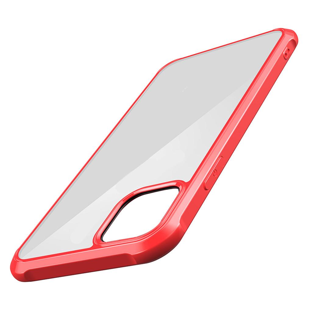 Чехол для IPhone 11 Pro 5,8 дюймов, модный защитный чехол, прозрачный ультра тонкий жесткий чехол для телефона, мягкий чехол для задней панели из ТП...(Китай)